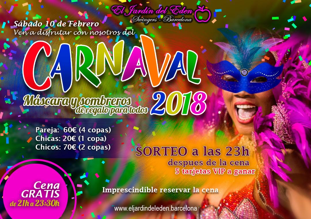 S bado 10 2 carnaval el jard n del ed n barcelona - El jardin del eden barcelona ...