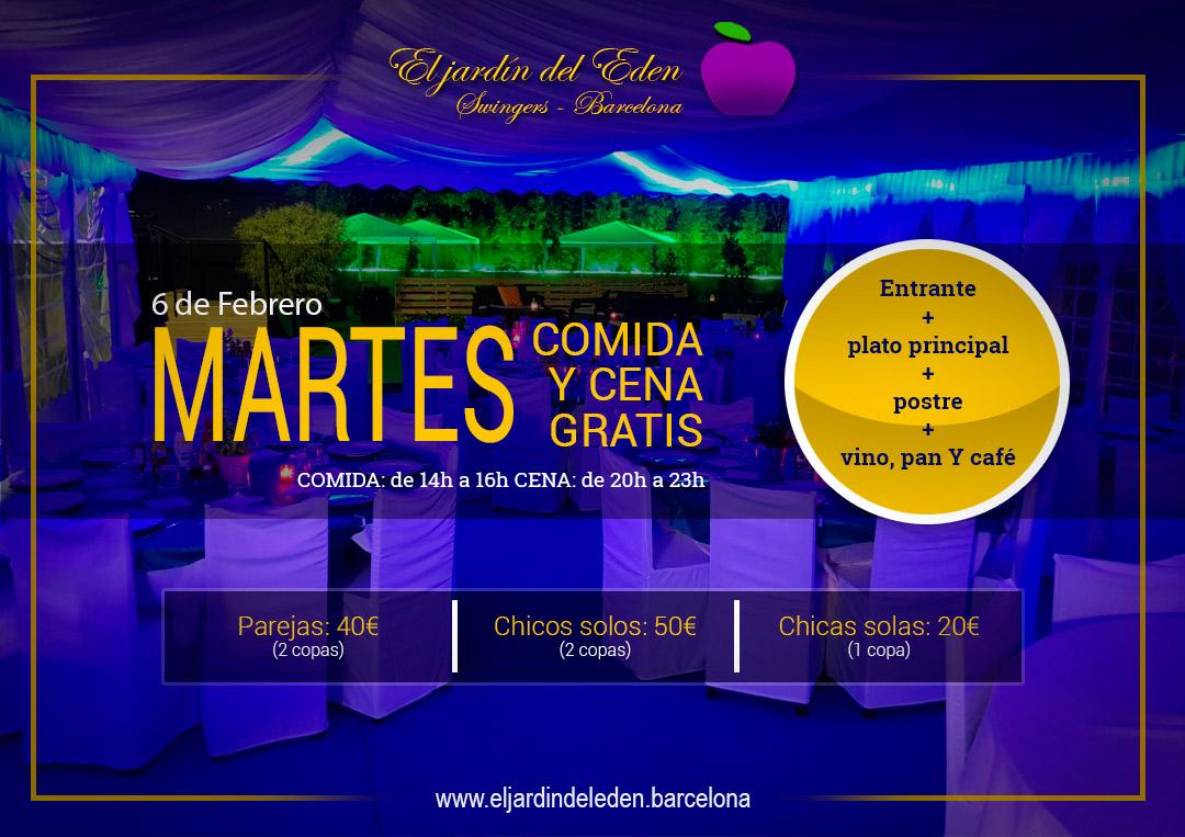 Martes6 el jard n del ed n barcelona for El jardin del eden montornes