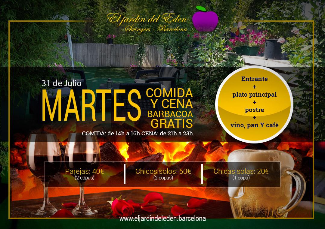 Martes 31 7 el jard n del ed n barcelona - El jardin del eden barcelona ...