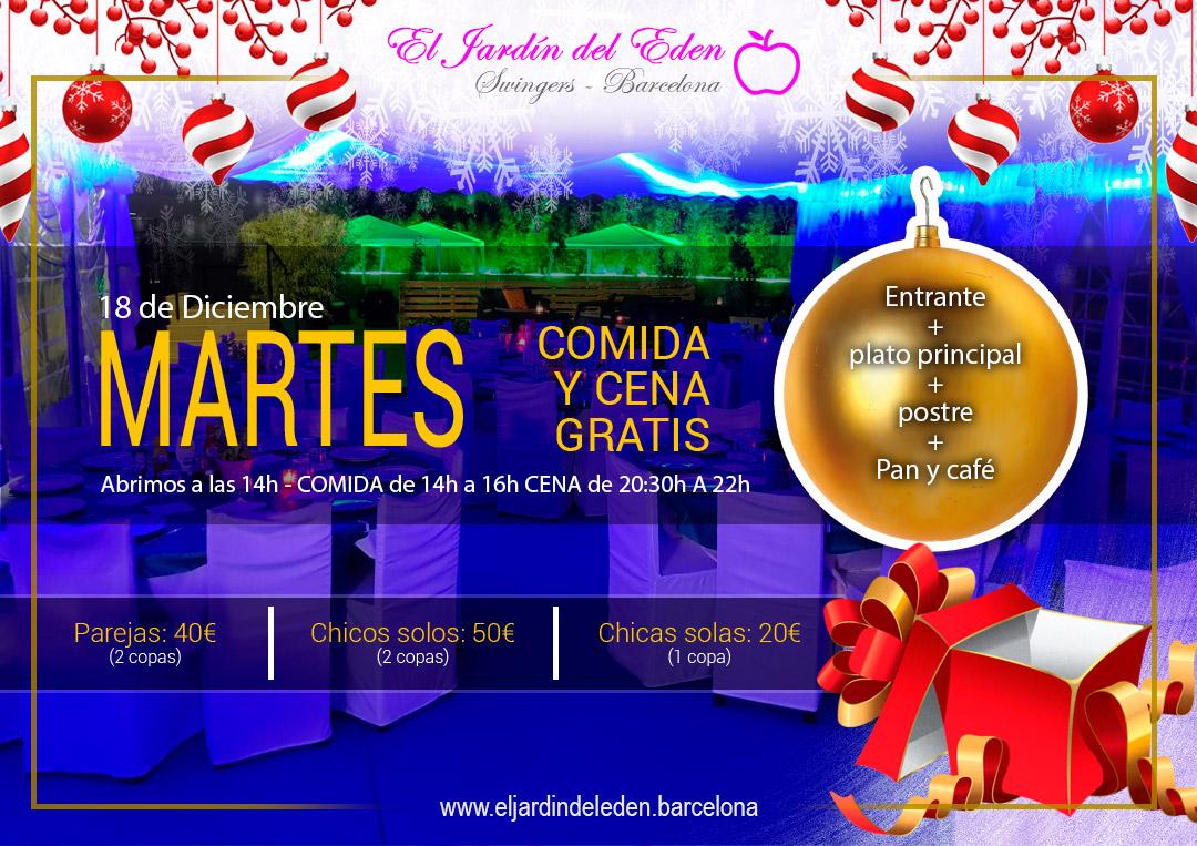 Martes 18 12 el jard n del ed n barcelona - El jardin del eden barcelona ...
