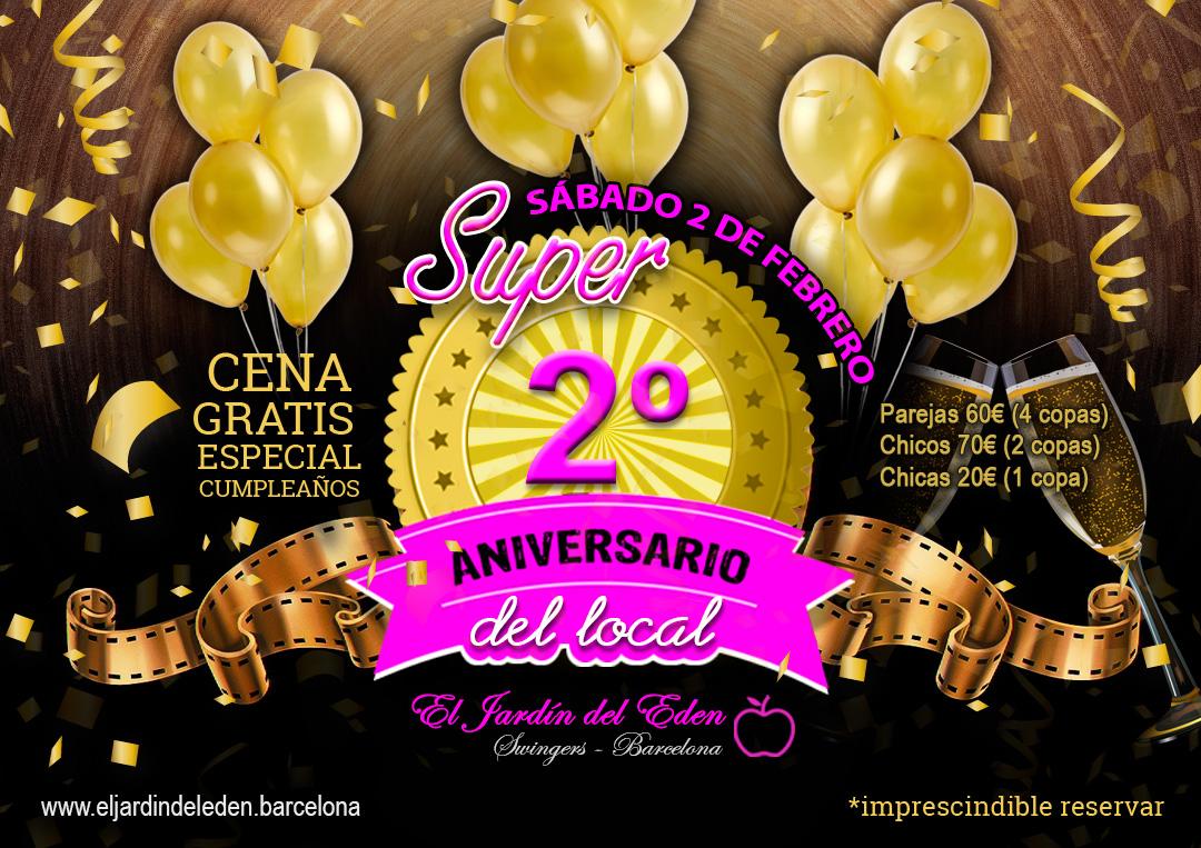 Sabado 2 2 La Fiesta Mas Grande Del Ano Aniversario Del Local