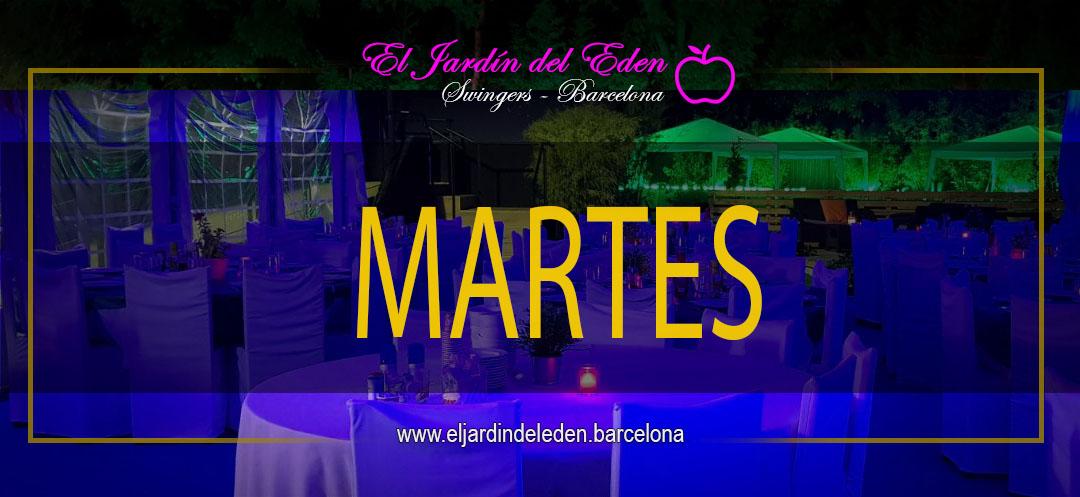 Martes 12 2 El Jardin Del Eden Barcelona